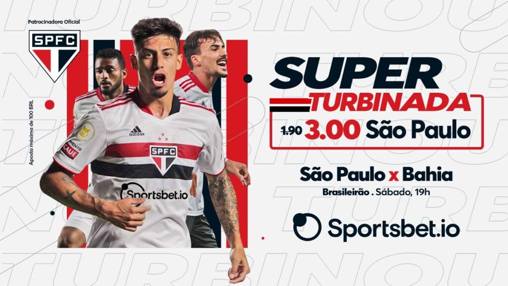 São Paulo anunica Sportsbetio como seu novo patrocinador master