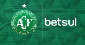 Chapecoense realizou parceria pontual com o site de apostas Betsul